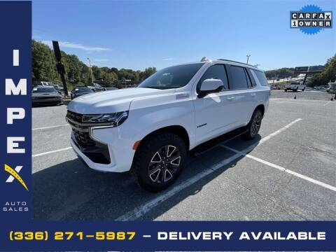 2021 Chevrolet Tahoe for sale at Impex Auto Sales in Greensboro NC