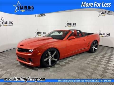 2011 Chevrolet Camaro for sale at Pedro @ Starling Chevrolet in Orlando FL