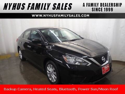 2018 Nissan Sentra for sale at Nyhus Family Sales in Perham MN
