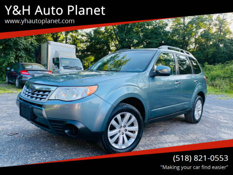 2012 Subaru Forester for sale at Y&H Auto Planet in West Sand Lake NY