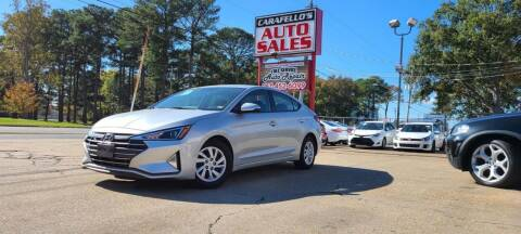2019 Hyundai Elantra for sale at Carafello's Auto Sales in Norfolk VA