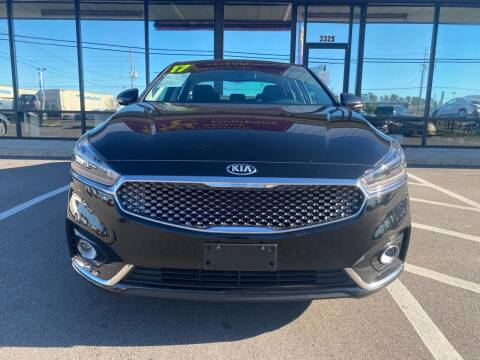 2017 Kia Cadenza for sale at East Carolina Auto Exchange in Greenville NC