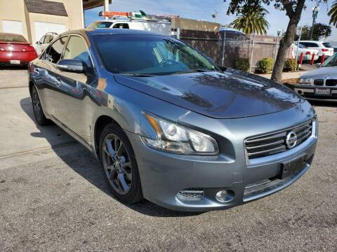 2014 Nissan Maxima for sale at Convoy Motors LLC in National City CA