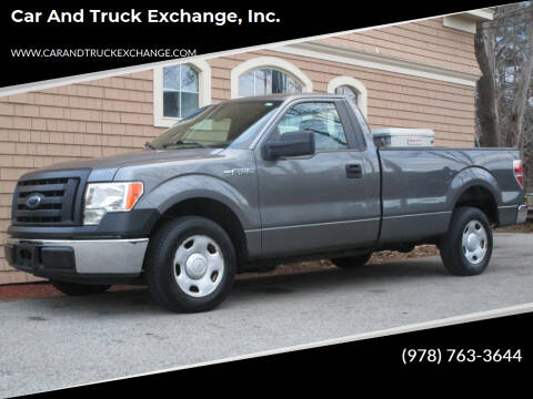 2009 Ford F-150 for sale at Car and Truck Exchange, Inc. in Rowley MA
