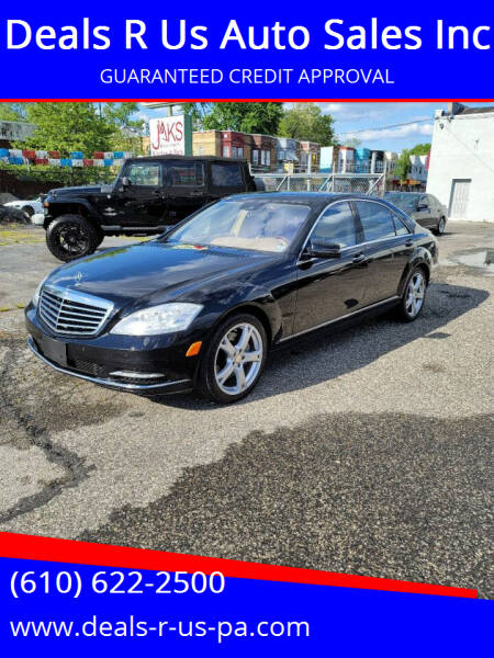 2013 Mercedes-Benz S-Class for sale at Deals R Us Auto Sales Inc in Lansdowne PA