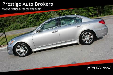 2013 Hyundai Genesis for sale at Prestige Auto Brokers in Raleigh NC