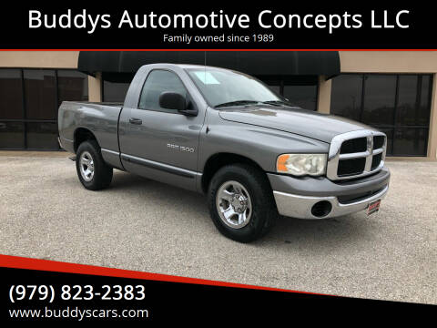 2005 Dodge Ram Pickup 1500 for sale at Buddys Automotive Concepts LLC in Bryan TX