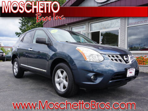 2012 Nissan Rogue for sale at Moschetto Bros. Inc in Methuen MA