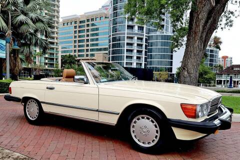 1986 Mercedes-Benz 560-Class for sale at Choice Auto in Fort Lauderdale FL