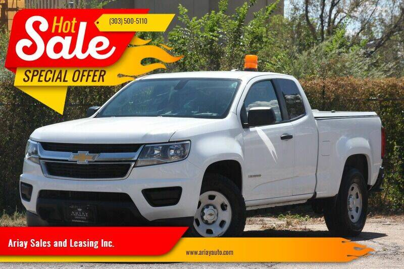 2016 Chevrolet Colorado for sale at Ariay Sales and Leasing Inc. - Pre Owned Storage Lot in Denver CO