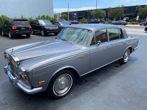 1973 Rolls-Royce Silver Shadow for sale at Prestigious Euro Cars in Fort Lauderdale FL