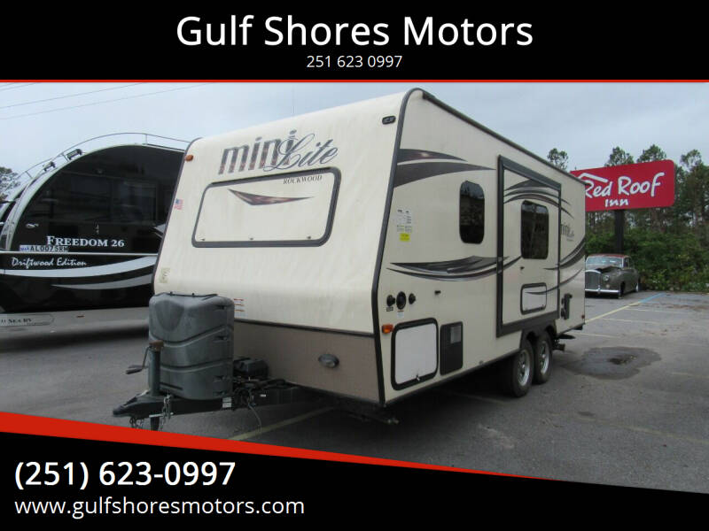 2015 Forest River Rockwood Mini for sale at Gulf Shores Motors in Gulf Shores AL