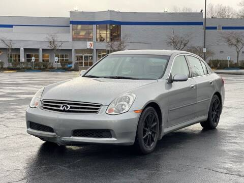 2006 Infiniti G35 for sale at H&W Auto Sales in Lakewood WA