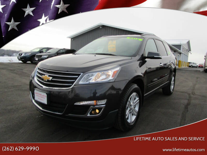 2014 Chevrolet Traverse for sale at Lifetime Auto Sales and Service in West Bend WI