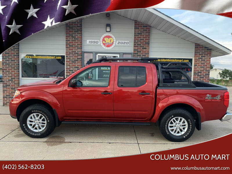2018 Nissan Frontier for sale at Columbus Auto Mart in Columbus NE
