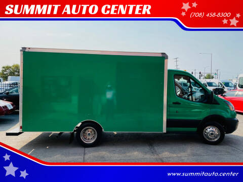 2019 Ford Transit Cutaway for sale at SUMMIT AUTO CENTER in Summit IL