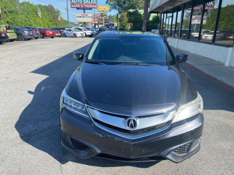 2016 Acura ILX for sale at J Franklin Auto Sales in Macon GA