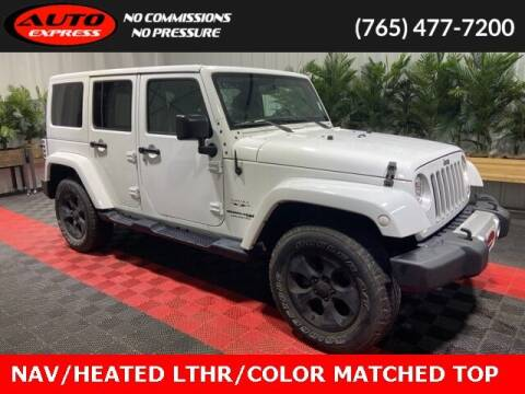 2018 Jeep Wrangler JK Unlimited for sale at Auto Express in Lafayette IN