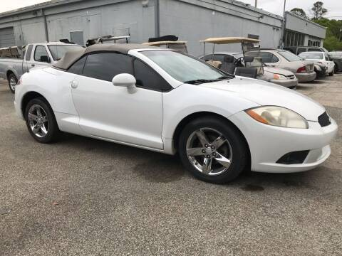 2009 Mitsubishi Eclipse Spyder for sale at Popular Imports Auto Sales in Gainesville FL