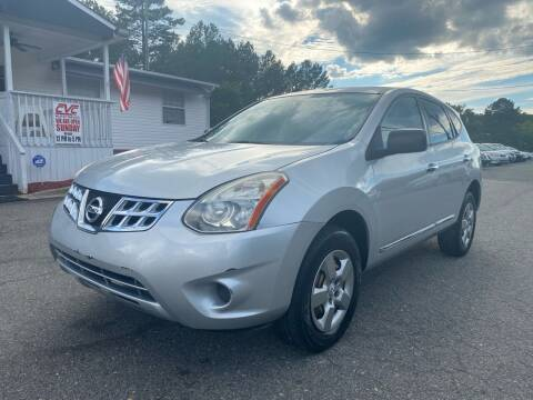 2013 Nissan Rogue for sale at CVC AUTO SALES in Durham NC