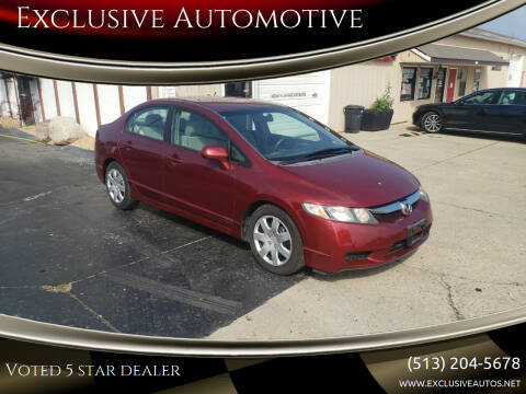 2009 Honda Civic for sale at Exclusive Automotive in West Chester OH