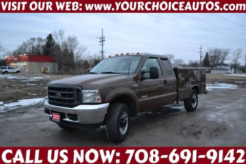 2004 Ford F-350 Super Duty for sale at Your Choice Autos - Crestwood in Crestwood IL