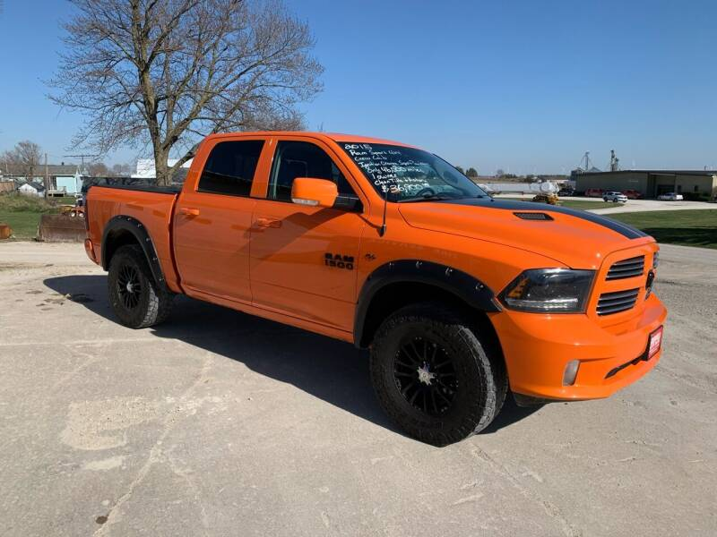2015 RAM Ram Pickup 1500 for sale at GREENFIELD AUTO SALES in Greenfield IA