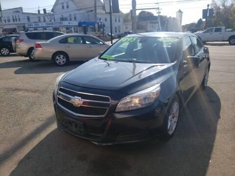 2013 Chevrolet Malibu for sale at TC Auto Repair and Sales Inc in Abington MA