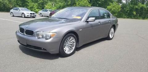 2004 BMW 7 Series for sale at Russo's Auto Exchange LLC in Enfield CT