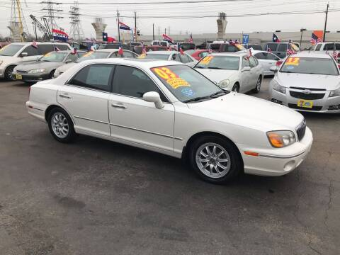 2003 Hyundai XG350 for sale at Texas 1 Auto Finance in Kemah TX