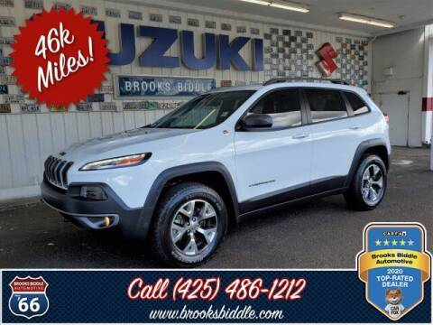 2015 Jeep Cherokee for sale at BROOKS BIDDLE AUTOMOTIVE in Bothell WA