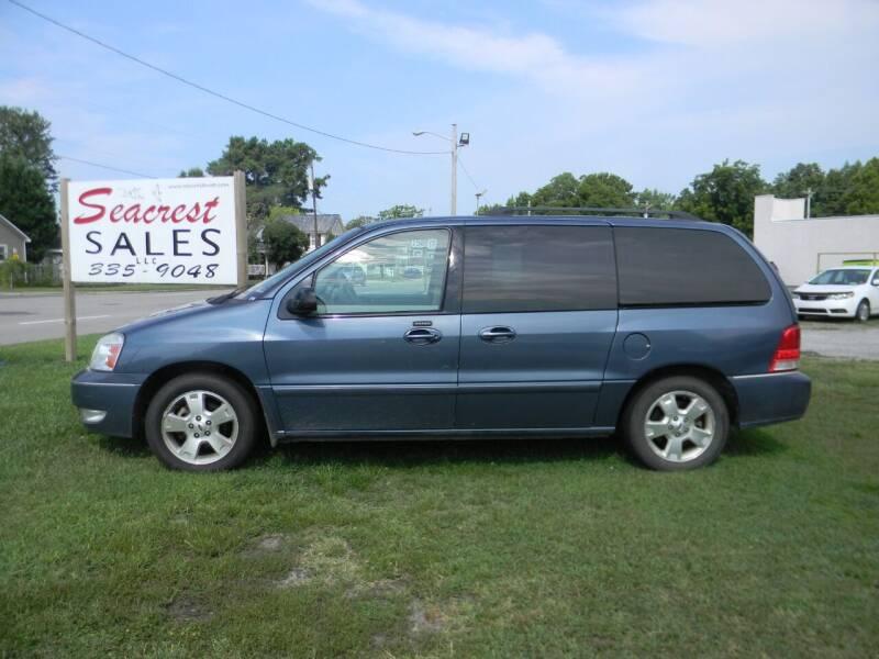 2006 Ford Freestar for sale at SeaCrest Sales, LLC in Elizabeth City NC