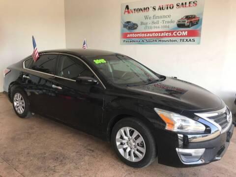 2015 Nissan Altima for sale at Antonio's Auto Sales - Antonio`s  2206 in Pasadena TX
