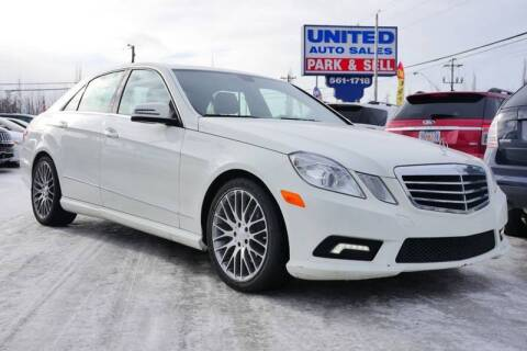 2011 Mercedes-Benz E-Class for sale at United Auto Sales in Anchorage AK