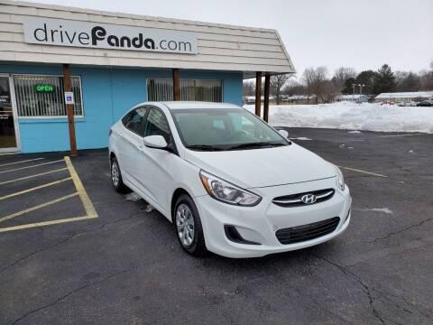 2017 Hyundai Accent for sale at DrivePanda.com in Dekalb IL
