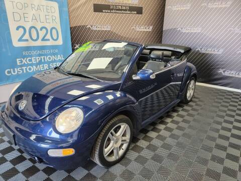 2005 Volkswagen New Beetle Convertible for sale at X Drive Auto Sales Inc. in Dearborn Heights MI