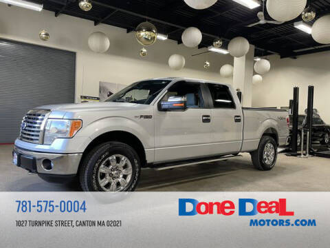 2011 Ford F-150 for sale at DONE DEAL MOTORS in Canton MA
