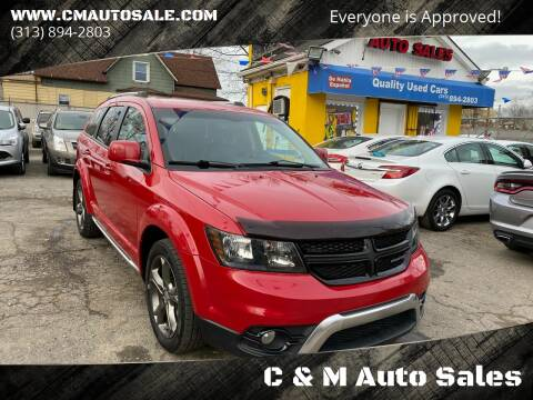 2015 Dodge Journey for sale at C & M Auto Sales in Detroit MI