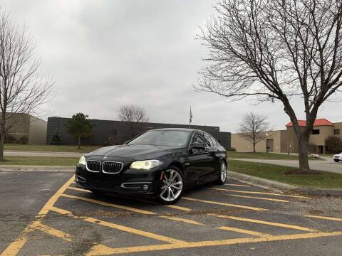 2014 BMW 5 Series for sale at A & R Auto Sale in Sterling Heights MI