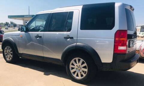 2006 Land Rover LR3 for sale at VanHoozer Auto Sales in Lawton OK