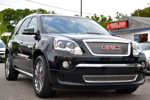 2011 GMC Acadia for sale at Wheel Deal Auto Sales LLC in Norfolk VA