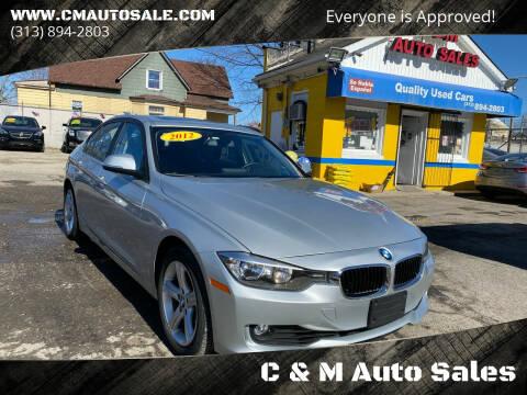 2012 BMW 3 Series for sale at C & M Auto Sales in Detroit MI
