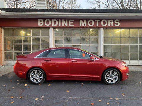 2014 Lincoln MKZ for sale at BODINE MOTORS in Waverly NY