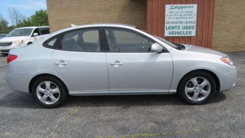 2010 Hyundai Elantra for sale at LENTZ USED VEHICLES INC in Waldo WI