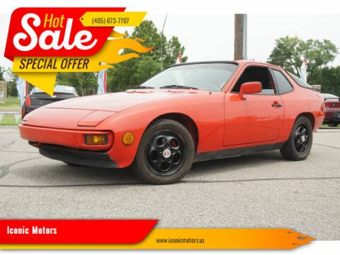 1987 Porsche 924 for sale at Iconic Motors of Oklahoma City, LLC in Oklahoma City OK