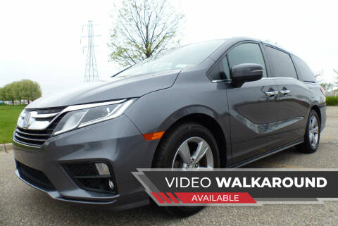 2018 Honda Odyssey for sale at Macomb Automotive Group in New Haven MI