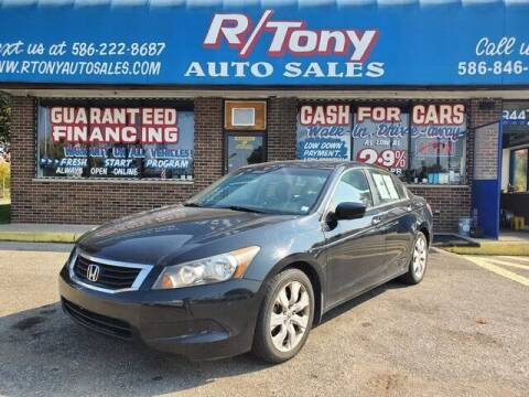 2010 Honda Accord for sale at R Tony Auto Sales in Clinton Township MI