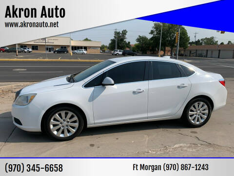 2015 Buick Verano for sale at Akron Auto in Akron CO