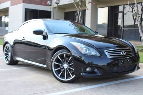 2013 Infiniti G37 Convertible for sale at DFW Universal Auto in Dallas TX