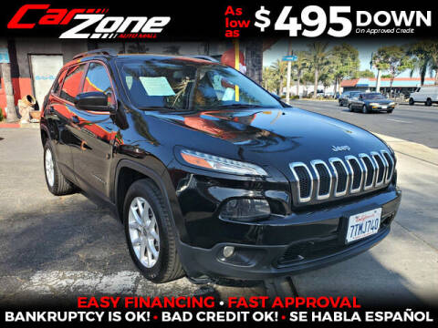 2017 Jeep Cherokee for sale at Carzone Automall in South Gate CA